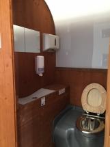 Interior sanitario madera
