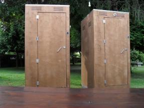 sanitario madera