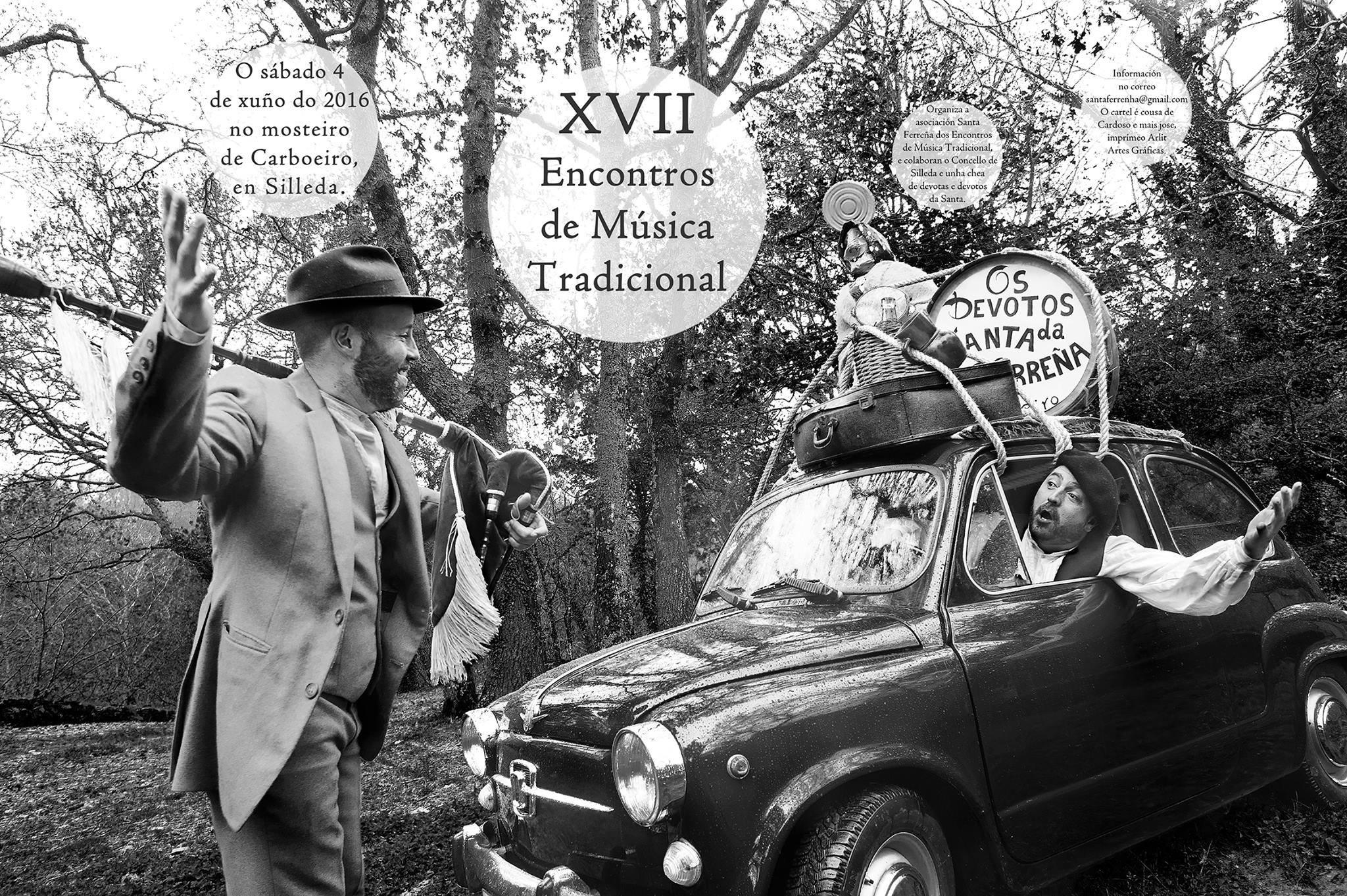 """""""XVII Encontros de Música Tradicional"""" en Silleda"""